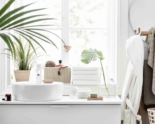 Idei de proiectare a unei bai mici: Mobilier de baie si accesorii