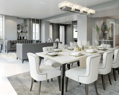 Masa de bucatarie si dining | 471+ de stiluri pentru bucatarii moderne